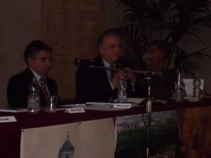 In ordine sa sinistra verso destra Salvatore Biondo, Ubaldo Bartolozzi e Carlo Costa
