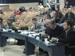 da destra verso sinistra i consiglieri Andrea Miragoli, Luigi Muratori, Carlo Giudici e Giuseppe Bettinardi