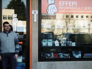 Andrea Prato, fra i referenti del centro commerciale naturale Giada e titolare del service d'informatica 'Effepi'