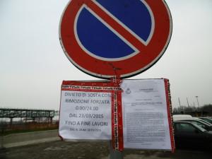 L'ordinanza di divieto di sosta nel parcheggio