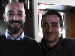 Da sinistra Dario Domante (architetto e urbanista), Paolo Domante (presidente Ascocem)