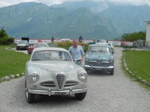 Magreglio - Raduno di auto storiche Alfa Romeo in occasione del centenario 1915-2015 dell'acquisizione da parte di Nicola Romeo della Anonima Lombarda Fabbrica Automobilistica