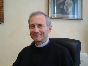 Il direttore del Centro Salesiano di Arese, don Sandro Ticozzi
