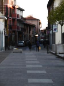 Centro storico di Arese. Via Caduti