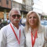 Daniela Regis con il marito Luciano