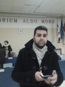 Luca Nuvoli, segretario della sezione Pd di Arese
